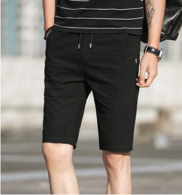 De puro algodón pantalones cortos casuales de los hombres de verano de 2018 nuevos hombres de cinco pantalones versión coreana de la tendencia en los hombres Pantalones de deporte GZ-85