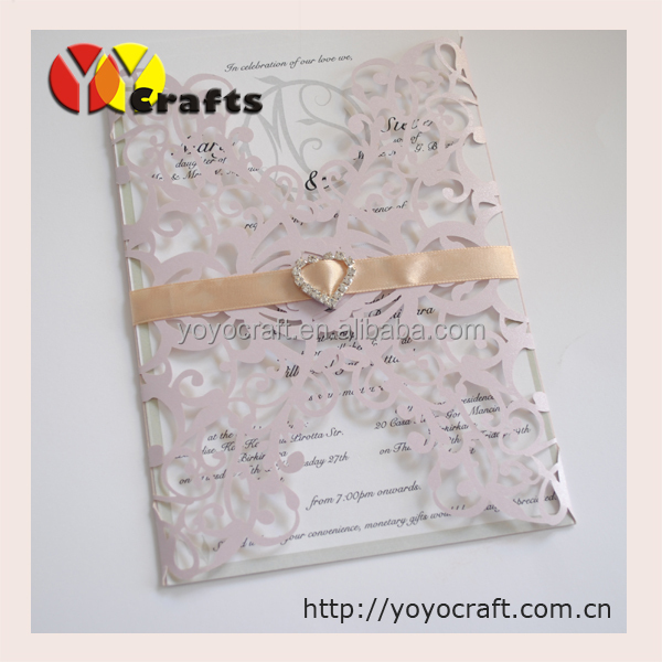 Lace flower handmade formal invitation card in cards invitations lace flower handmade formal invitation card stopboris Gallery