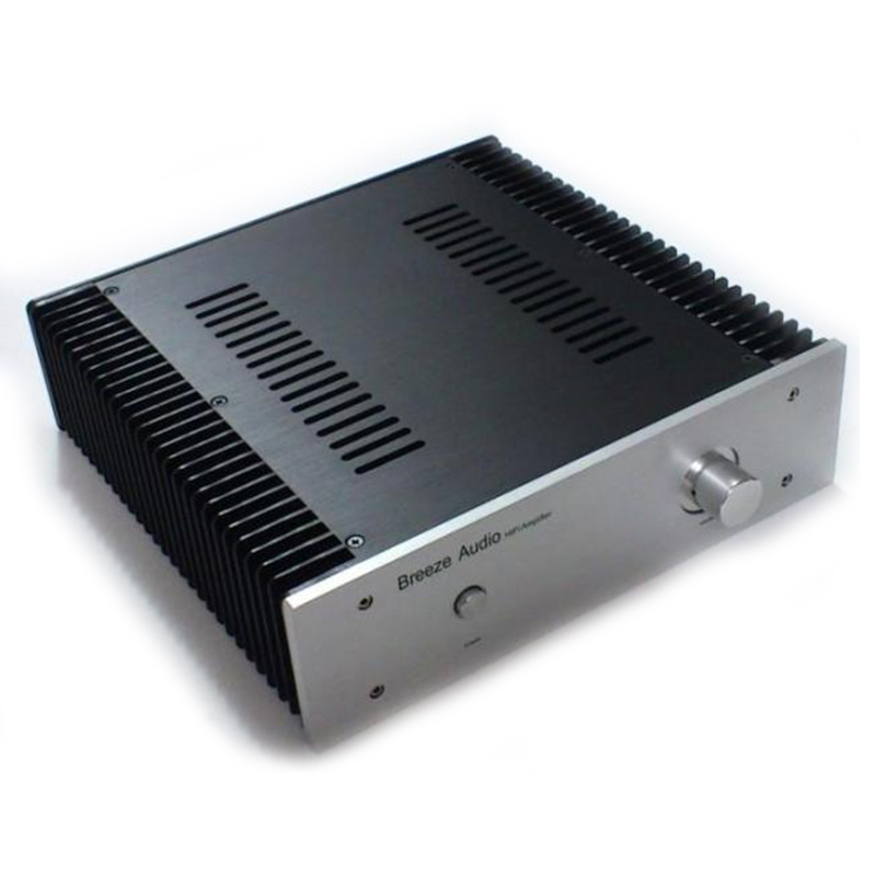 XIAOJIA Full Aluminum Preamplifier / DAC Decoder / Power amplifier Chassis size 320*90*311MM 4308 rounded chassis full aluminum enclosure power amplifier box preamplifier chassis