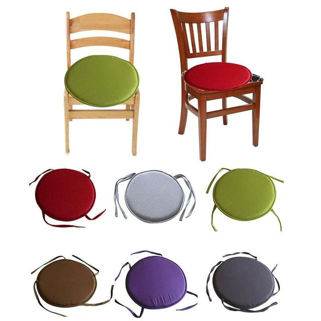 Chair Cushions Tie On Ikea Sofas And Chairs Hot Round Seat Cushion Circular Furniture Pads Breathable Soft Office Home Decoration