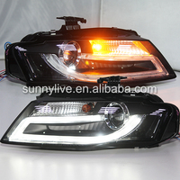 For Audi A4LB8 LED front light fit For Genuine car with Xenon model 2009-2012