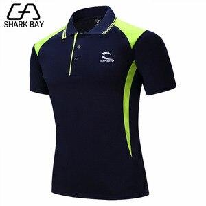 Image 4 - 3 PLANETSP Nuevo 2019 marca sólido cuello Polo Camisa Thường Ngày hombres verano Manga corta Camisa Polo ajustado camisa de los hom