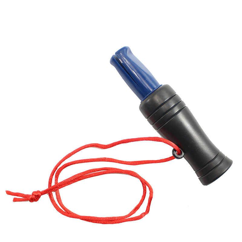 في الهواء الطلق الصيد صافرة PVC بطة الدراج مالارد البرية الطيور أوزة المتصل صوت الشراك الخداعية الصيد التبعي