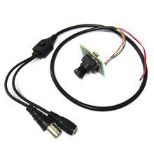 1/3″ Color 700TVL 811 Effio-E SONY 960H CCD CCTV Module Camera board OSD menu + 3mp MTV lens