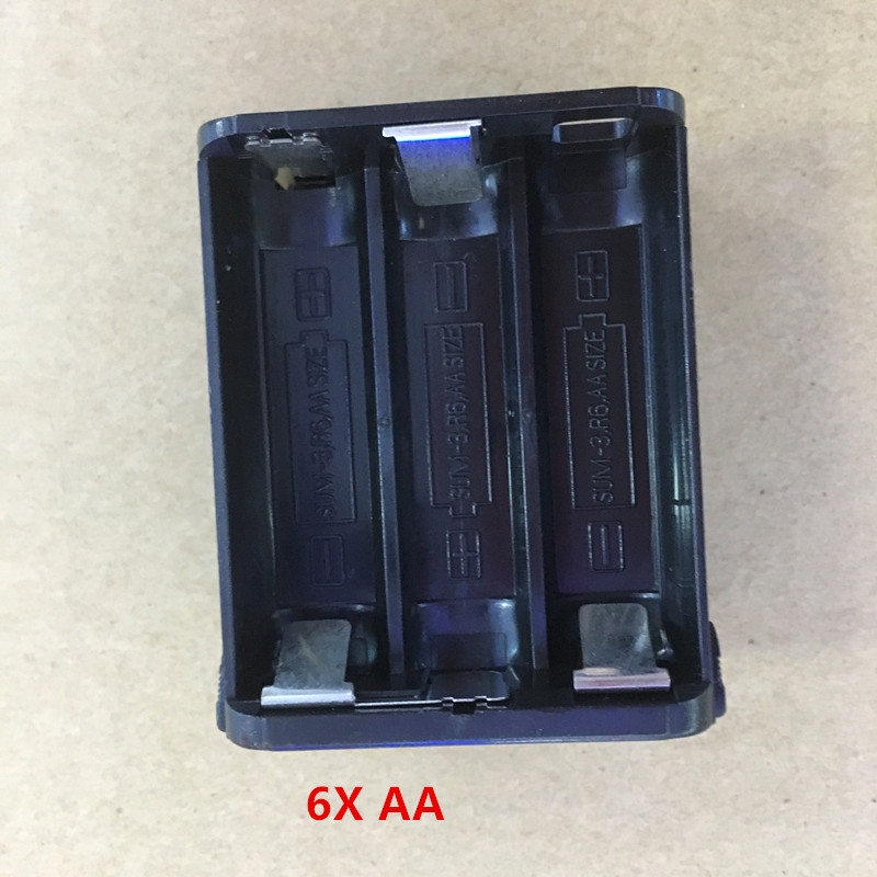 honghuismart BT 8 6 AA battery case pack for kenwood TH28 TH48 TH78HT font b walkie