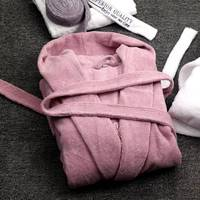 Winter Hooded Women Bathrobes Cotton Thick Nightwear Home Clothes Towel Warm Bath Robe Dressing Gowns For Women Kimono Robe