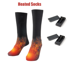 VIP LINK Outdoors  Electric Heated Socks Cotton Sport Ski Men Women