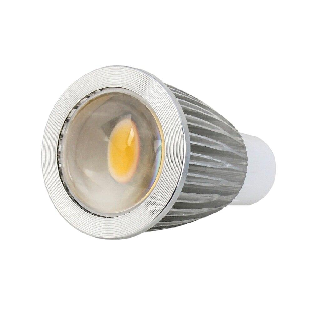 5X GU10 GU5.3 E27 E14 5W 7W 9W Dimmable COB LED Sport light lamp led bulb warm cold white AC110V 220V 240V