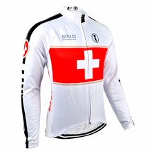 Bxio Winter Thermal Fleece Men sCycling Jersey Shirt Bike Jersey Pro Bike Team Warm Long Sleeves