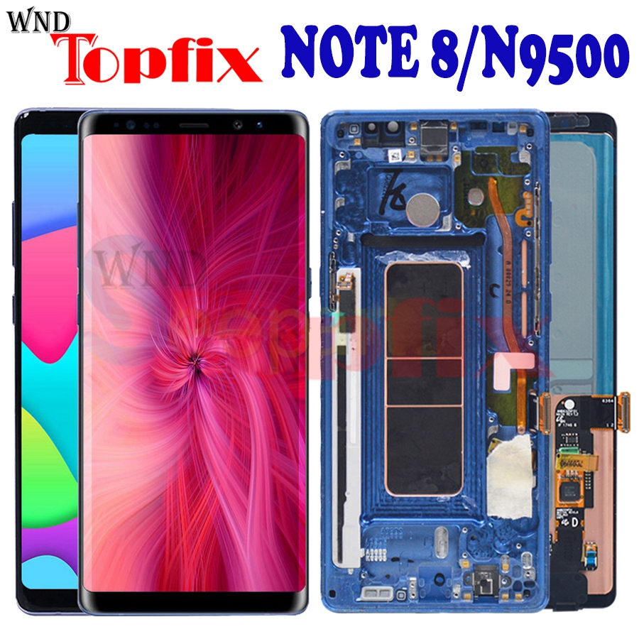 For Samsung NOTE 8 LCD Display Touch Screen display digitizer assembly For Samsung note8 LCD N9500F