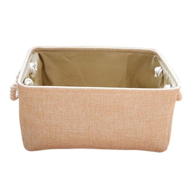 Storage Lined Baby Basket Rectangular