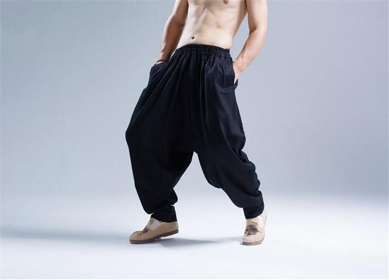 Pantalon Shenzhen noir de 3/4