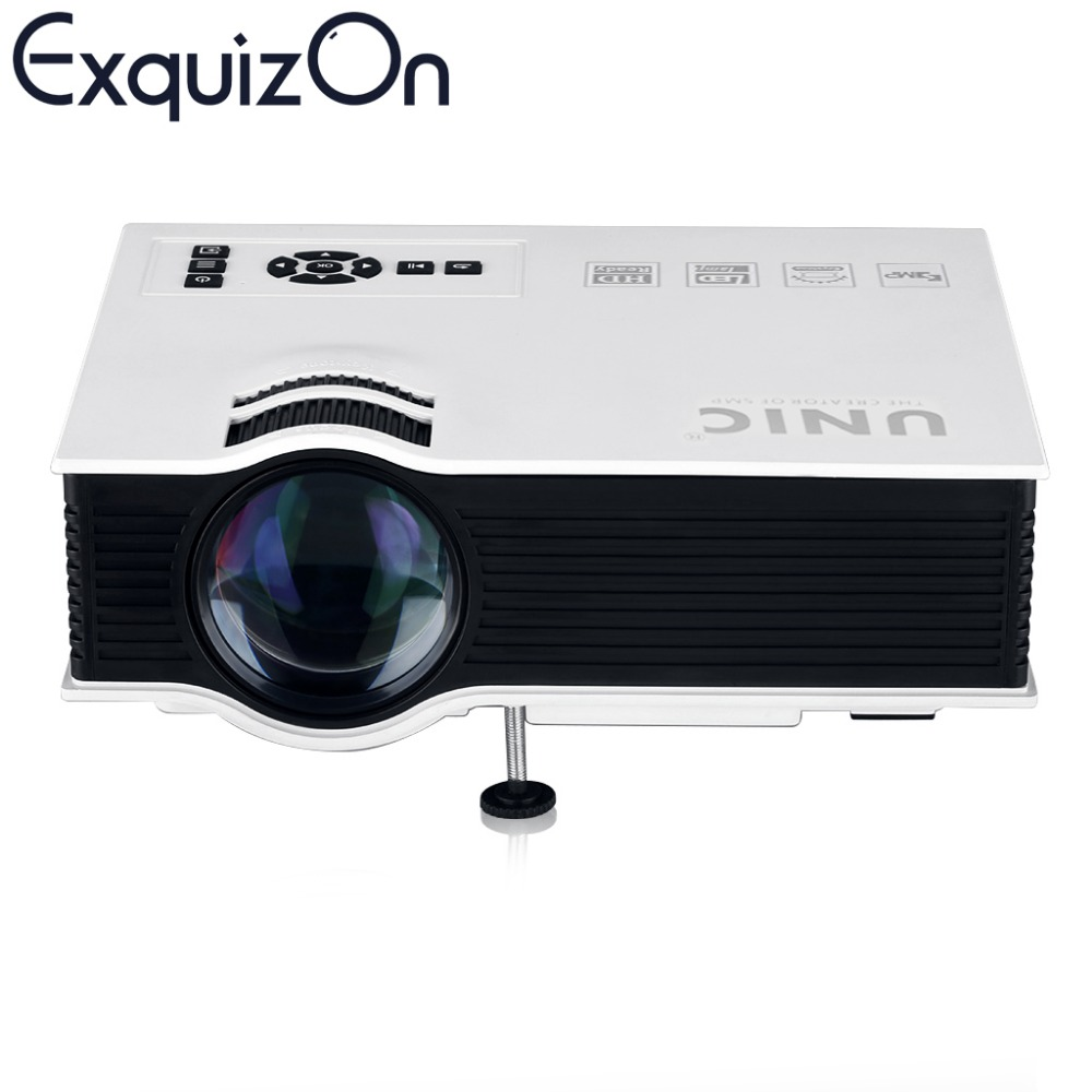 Cheapest original unic uc40 projector portable led lcd for Portable projector with hdmi input