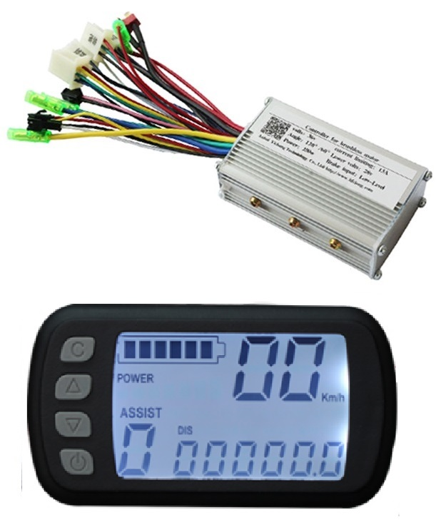 Free Shipping 250W 24V DC brushless motor control panel Liquid crystal display LCD controller E-bike electric bicycle speed amandeep gill manbir kaur and nirbhowjap singh speed control of brushless dc motor by neural network pid controller