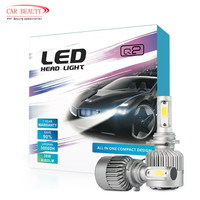 2018 NEW H4 H7 H11 H1 H3 9005 9006 Car LED Headlight Bulb 8000LM 6000k 72W Automobiles LED Headlamp ALL IN ONE Car Styling