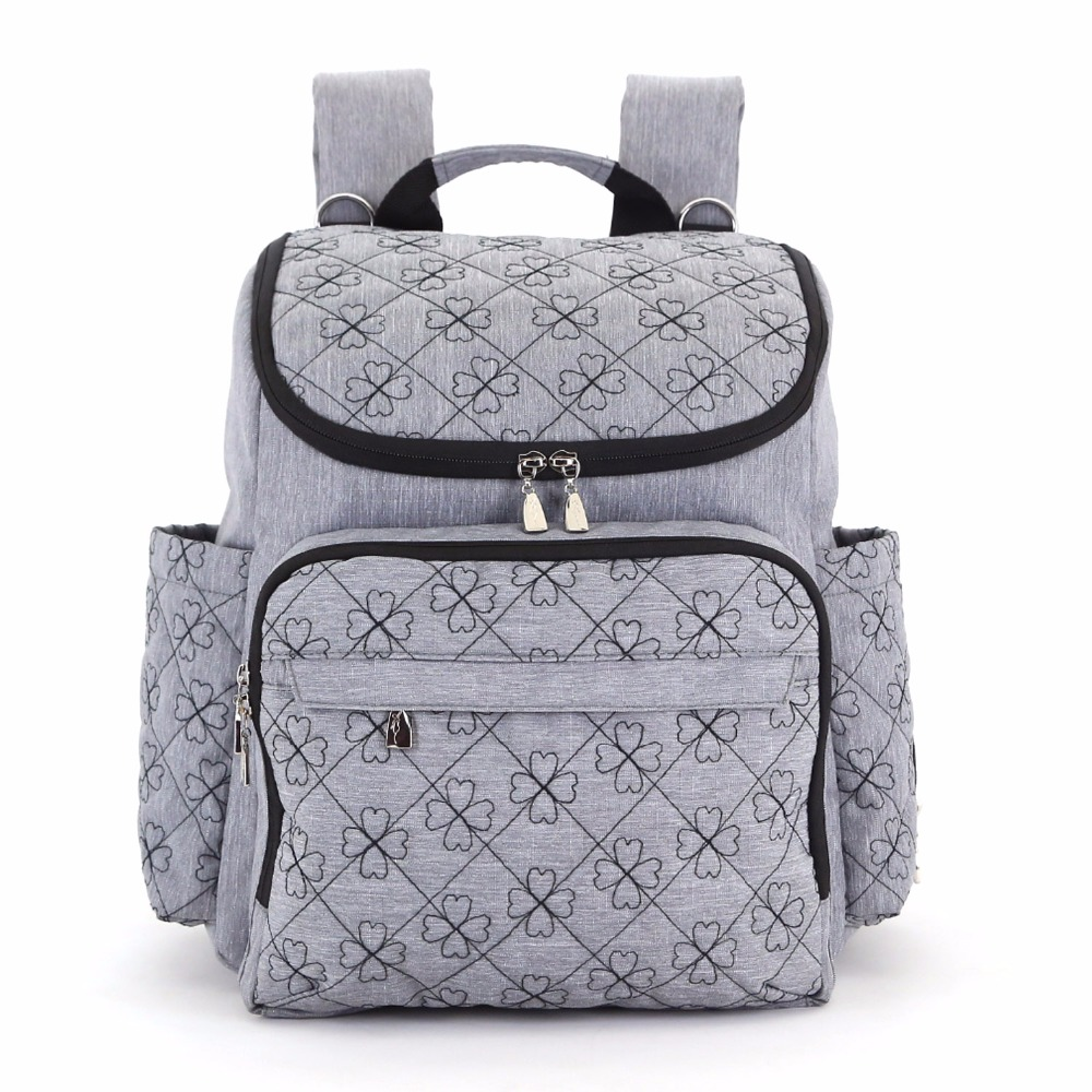 LXEM Baby Bag Fashion Nappy Bags Large Diaper Bag Backpack Baby Organizer Maternity Bags For Mother Handbag Baby Nappy Backpack