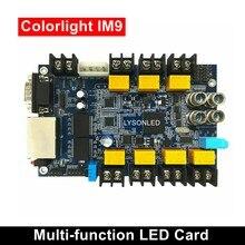 Colorlight iM9 Cartão Multifunções Temperatura/Umidade/Sensor de Luminosidade Trabalho para Interior/Ao Ar Livre da Cor Cheia de Exibição de Vídeo LED