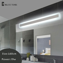 Acrylic Bathroom Lamp Modern LED Wall Light Sconce Wall Lamp For Bedroom Bathroom Mirror Front Light Wandlamp 120 100 80 60CM metzeler feelfree wintec r14 120 80 58s передняя front