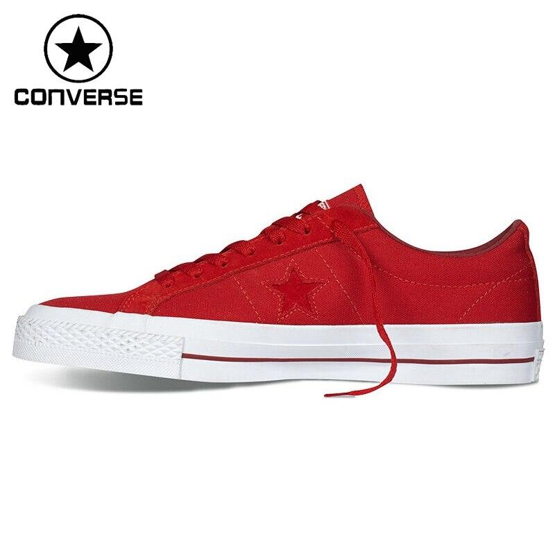 Prix pour Original Nouvelle Arrivée Converse Hommes Planche À Roulettes de Chaussures de Toile Sneakers