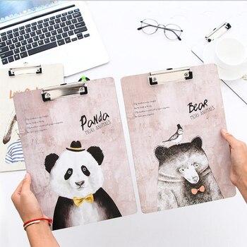 A4 Śliczne Wypełnić Produkt Raport Pokrywa Biura Zarządu Szkoły Otrzymaniu Dostawy Piękny Cartoon Zwierząt Kręgosłupa Bar Papieru Notebook Spoiwa