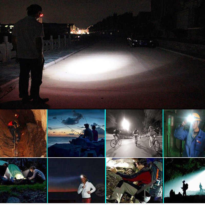 Налобный фонарь lampe frontale Zoomable водонепроницаемая лампа головной убор со светодиодами клип linternas Бесплатная доставка zk50