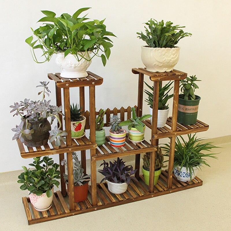 indoor shelf aliexpresscom buy home furnishing multilayer wood flower living