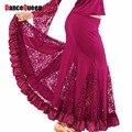 2017 Новый Современный Танец Юбка Платья Танго Бальные Конкурс Латинский Танец Dress Бальные Танцы Юбки Практике DQ5021