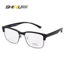 1.61 Blue Light Proof Reading Glasses Men Antifatigue Hyperopic Eyewear Women See Near Diopter Occhiali Da Lettura SH018