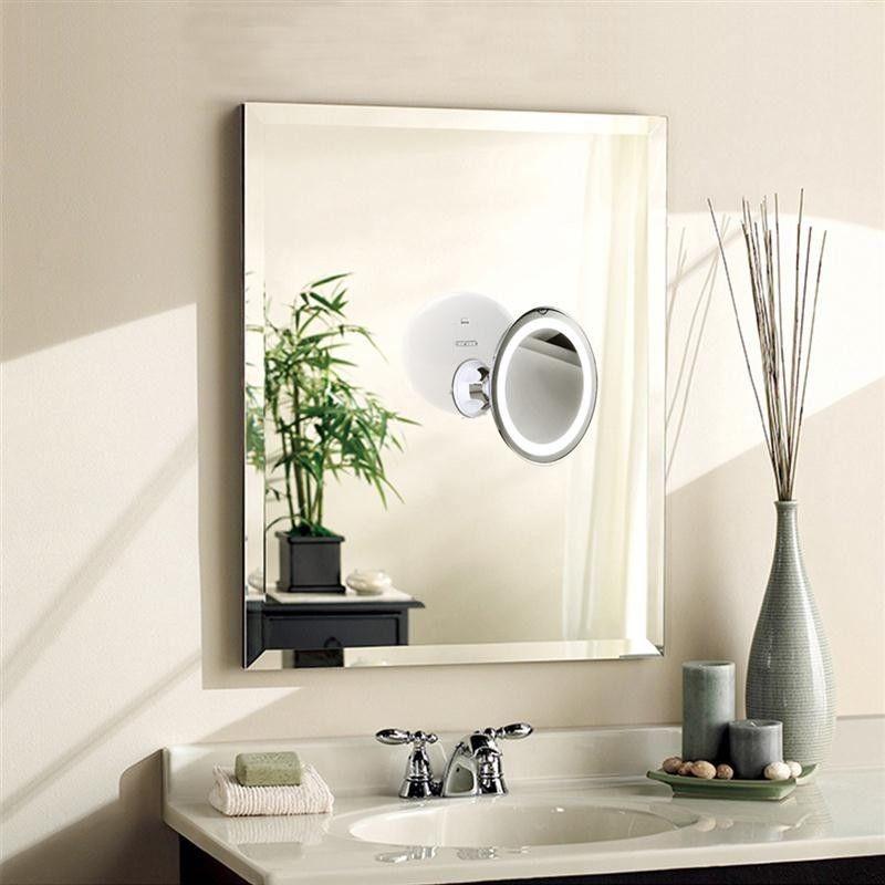 Купить cosmetic wall <b>vanity mirror</b> with lights <b>7x magnifying</b> led ...