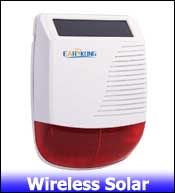 Wireless Solar Siren