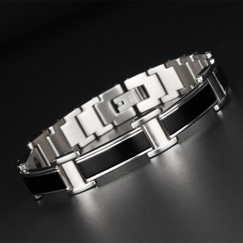 Vrouwelijke Charme armband Germanium Link Chain Gezondheid Magnetische Armband Voor Vrouwen Bio Energie Sieraden voor Artritis-in Schakel & Link Armbanden van Sieraden & accessoires op  Groep 3