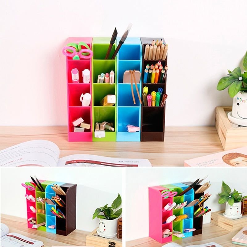 Multifunctional Socks Underwear Stationery Storage Box Cosmetics Organizer Box M15