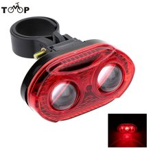 3 LEDs Modes Bike Tail Light Lamp LED Cycling Bicycle Taillight Handlebar Back Rear for Safty Warning