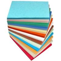 21*29.7 cm A4 Kleurrijke Binden Cover Dermatoglyph Papier Party Decoraties Kaart Maken Craft Papier 160gsm 230gsm