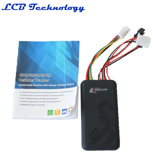 GT06 Car GPS Tracker SMS GSM GPRS Vehicle Tracking Device Monitor ...