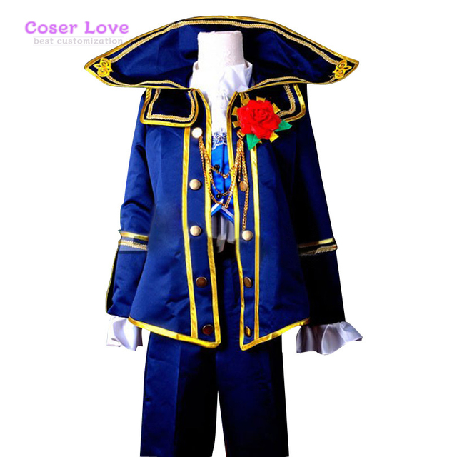 VOCALOID Project Diva F kaito Requiem Cosplay Costume Delxue-KH6 Halloween  Christmas Costume