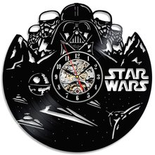 Star Wars Darth Vader Vinyl Wall Clock