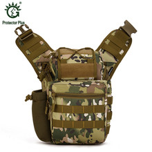 Photography Bag 5 Colors 24cm L*16cm W*31cm H Tactical Bag Simgle Shoulder 0.8KG Nylon Multipockets Military Backpack Camoflage(China)
