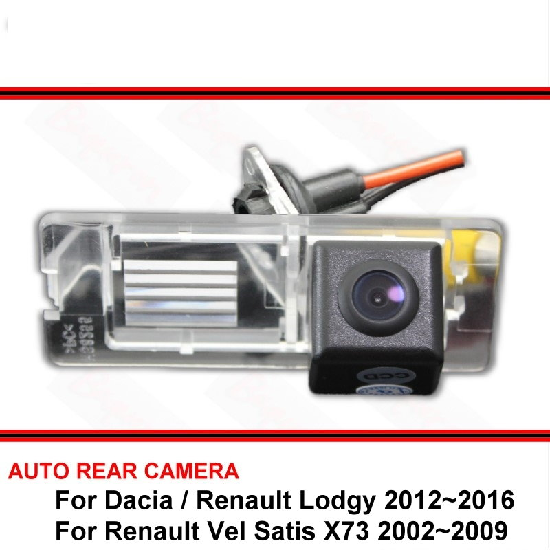 For Dacia Lodgy / For Renault Lodgy 12~16 Vel Satis X73 Night Vision Rear View Camera Reversing Camera Car Back Up Camera HD CCD