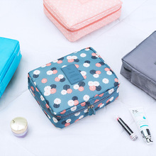 Makeup Bags With Multicolor Pattern Cute Cosmetics Pouchs Travel Ladies Pouch Women Cosmetic Bag Zipper Storage