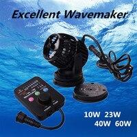 100V 240V Submersible Wavemaker Pump Silent Aquarium Water Wave Flow Pump Smarter Control DC Pump For Fish Tank Marine Coral