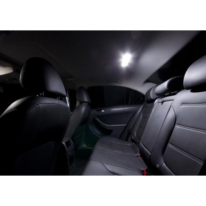 Paket XIEYOU 10pcs LED Canbus Lampu Interior Kit Untuk J MK 6 - Lampu mobil - Foto 5