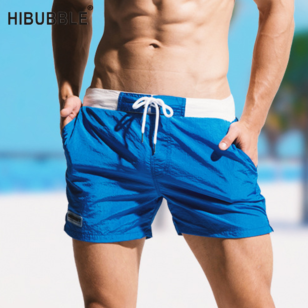 4fb360b8cd Detail Feedback Questions about HIBUBBLE Large Size Solid Swimwear Men Sexy  2018 Mens Swimming Shorts Quick Dry Man Swimming Trunks For Bathing Swimsuit  ...