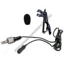 MICWL 3.5 mm Lockable Mono-7 Lavalier Lapel Tie Clip Cardioid Condenser Microphone For Sennheiser Wireless Transmitter