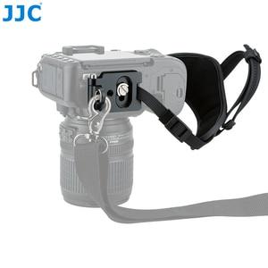 "Image 3 - JJC Deluxe מצלמה יד גריפ רצועת יד עבור Sony ניקון Canon פוג י Panasonic אולימפוס עם 1/4 "" 20 חצובה שקע עבור DSLR"