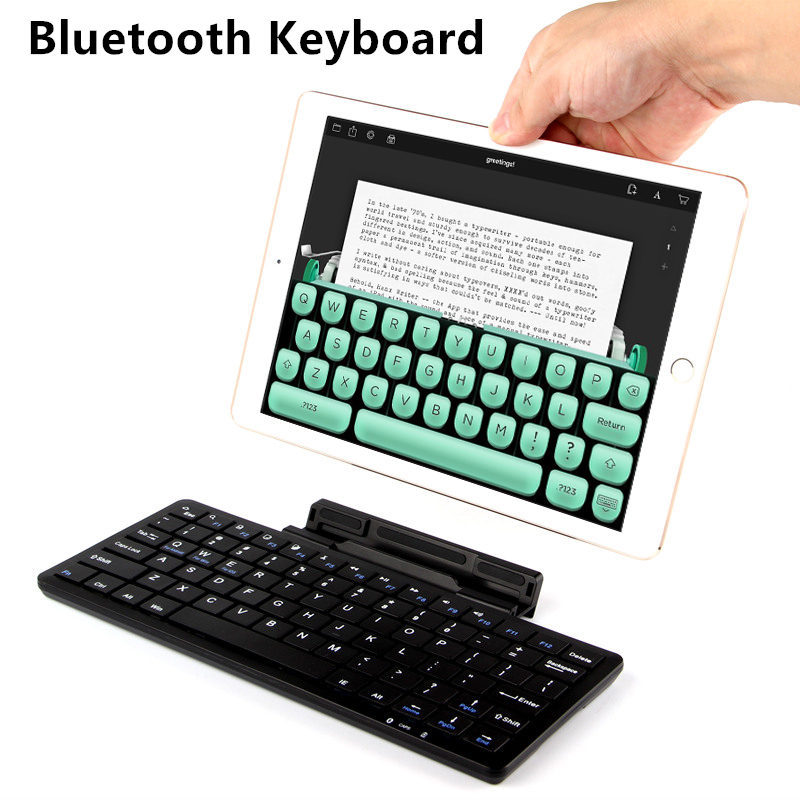 Bluetooth Keyboard For Samsung Galaxy Tab 2 P5100 P5110 P7500 P7510 Tablet PC Wireless keyboard For Tab A 10.1 T580 T585 Case цена