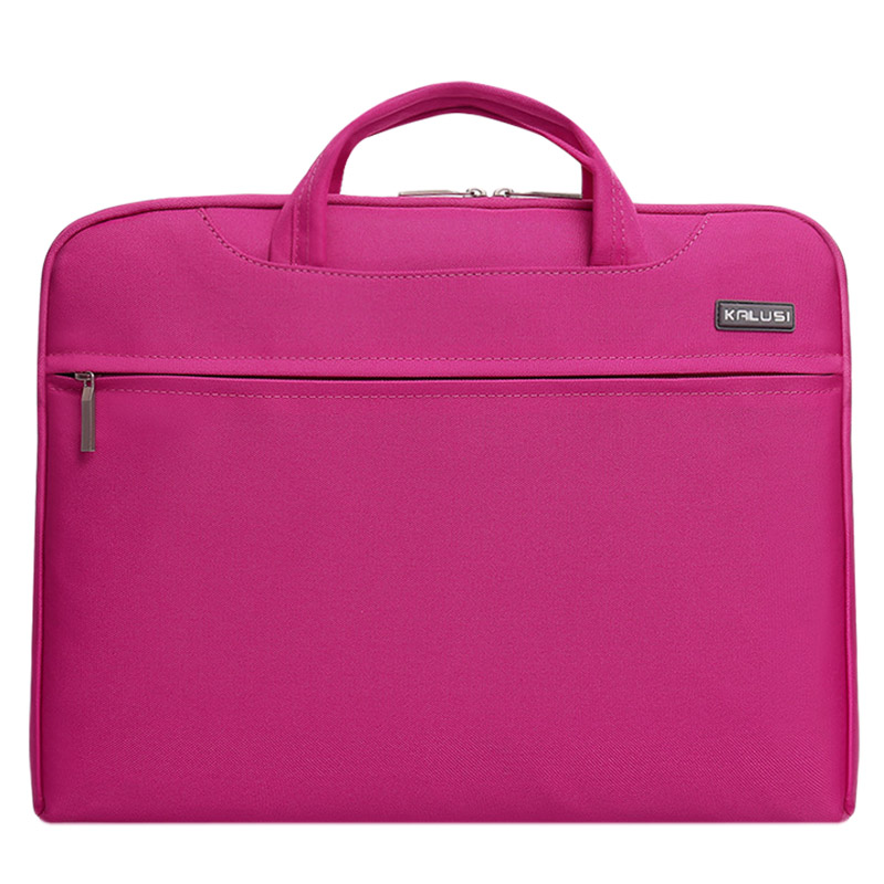 New waterproof arrival laptop bag case computer bag notebook cover bag 14 inch for Apple Lenovo Dell Computer bag(Rose Red)