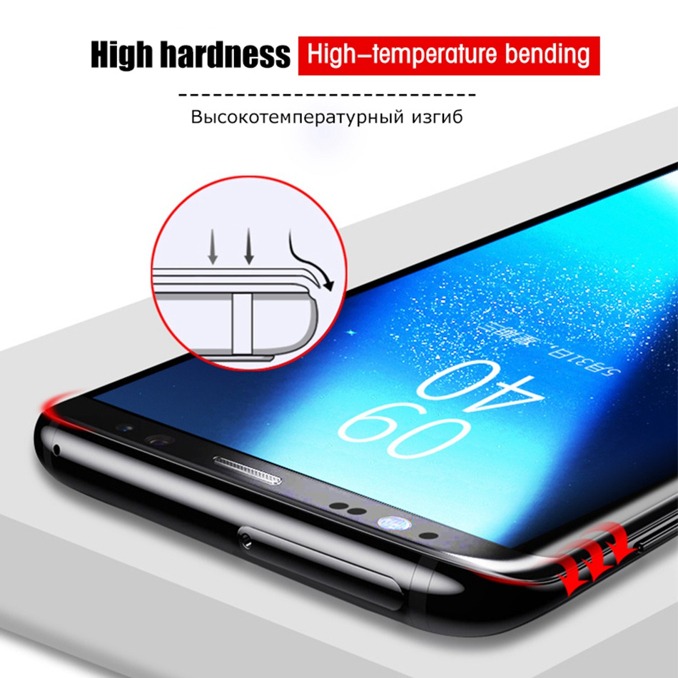 Image 3 - 9D Tempered Glass for Samsung Galaxy A50 A70 Screen Protector Glass for Samsung M20 A20 A20e A60 A80 M10 A30 A40 A50 A10 Glass-in Phone Screen Protectors from Cellphones & Telecommunications on