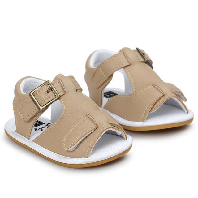 Baby Sandals 2017 Fashion Baby Boys Sandals Shoe Casual Shoes Sneaker Anti-slip Soft Sole Toddler D50