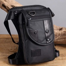 Men Waterproof Oxford Ride Leg Bag Drop Fanny Waist Bags Military Motorcycle Riding Waist Leg Bag Crossbody Bag цена и фото